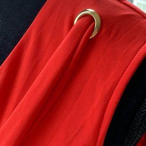 JB by Julie Brown Dresses - NWOT Julie Brown XL. dress w rivets & bow. Yummy